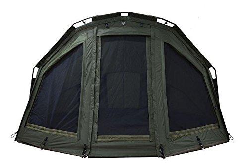 Ehmanns Hot Spot SX Maxi Bivvy Zipped Front 3 Mann Angelzelt Karpfenzelt Carp Dome  Komfort