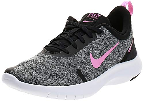 Nike Women's Flex Experience Run Shoe, Pure Platinum/Psychic Pink/Black, 8 Regular US
