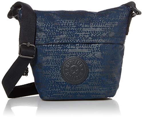 Kipling Women's Sonja S Crossbody Bag, Blue Eclipse Print, Small