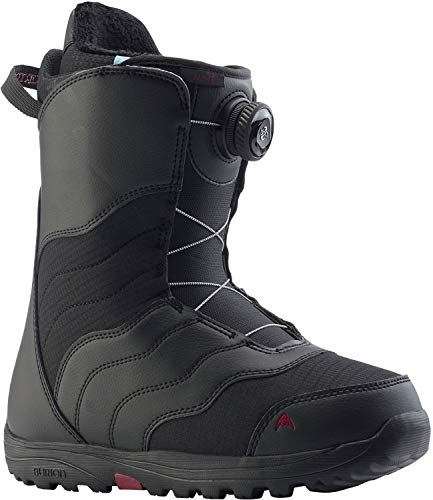 Burton Mint BOA Snowboard Boots Womens Sz 9.5 Black