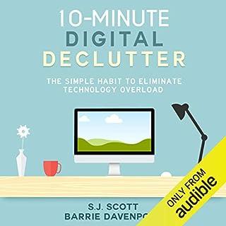 10-Minute Digital Declutter audiobook cover art