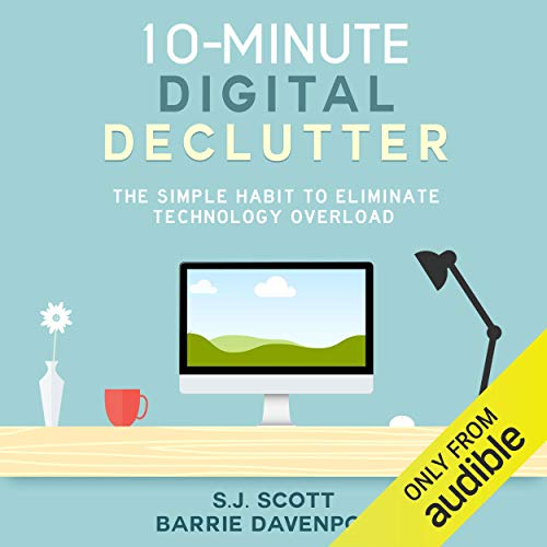 10-Minute Digital Declutter audiobook cover art
