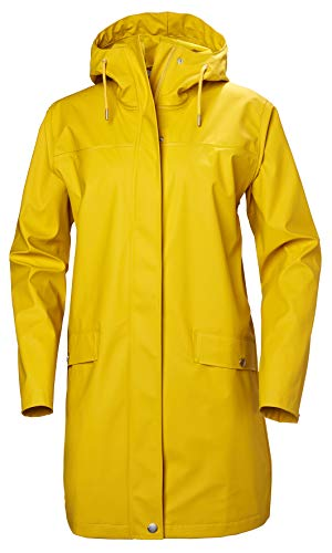 Helly Hansen Moss all'Aperto Impermeabile, Giacca Invernale Unisex Adulto, Essential Yellow, L
