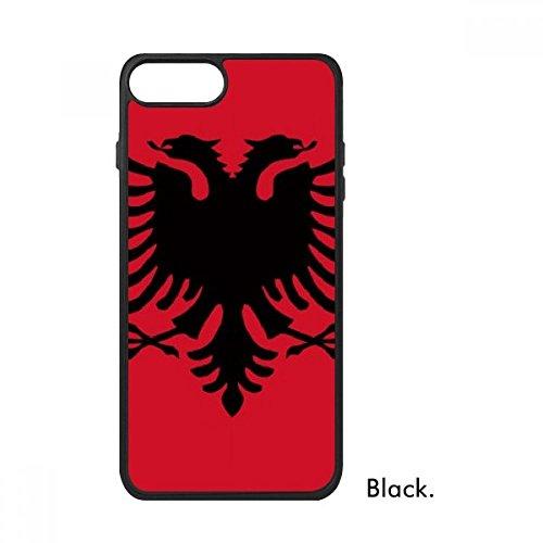 Bestchong Albanië Nationale vlag Europa Land Voor iPhone SE 2 nieuw voor Apple 78 Case Cover