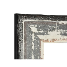 Trent Austin Design Beveled Ivory/Black Wall Mirror & Reviews | Wayfair