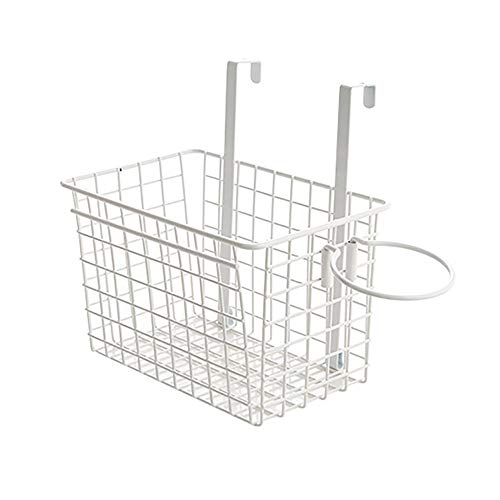 Omenluck 1Pc Storage Basket Metal Wire Baskets with Open for Storing Food and Accessories