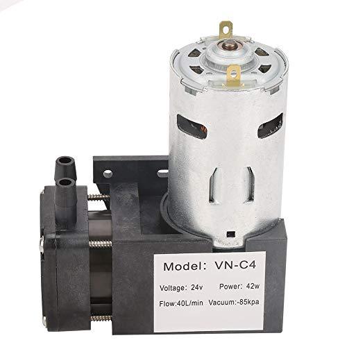 Bomba de vacío sin aceite, larga vida útil Bomba sin aceite de bajo ruido, vibración pequeña Durable y buen rendimiento Alta eficiencia para máquinas envasadoras al vacío domésticas