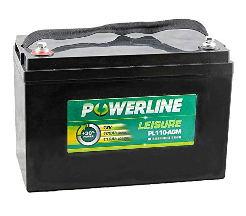 PL110-AGM Powerline AGM Leisure and Marine Accu 100Ah
