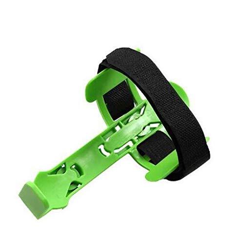Accesorios para bicicletas Ultraligeros ajustable del sostenedor de botella de la bicicleta 1pcs utilidad general de la hebilla de diseño de la botella de agua de la bici de la jaula ( Color : Verde )