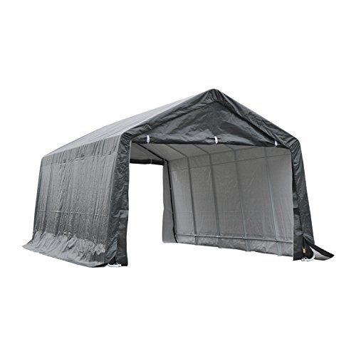 Outsunny 20' x 12' Heavy Duty Outdoor Temporary Carport Canopy Tent with Durable Construction &...