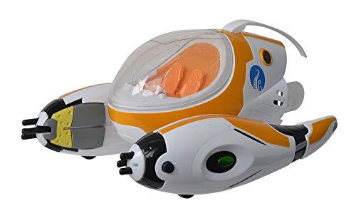 Simba 109391007 - Die Nektons Rover / Das Fahrzeug der Nektons / Mit Licht, Schwimm- und Greiffunkton / Für 2 Figuren / Wasserfest / 28cm