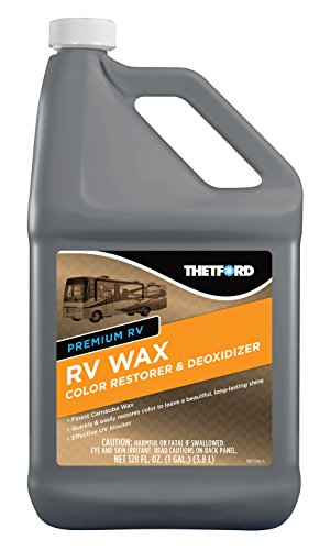 Thetford Premium RV Wax - Color Restorer and Oxidation Remover for Cars - RVs - Boats -...