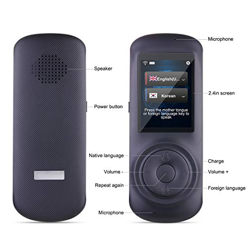 5 Reasons why you need a multi-language portable smart voice translator 2