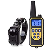 Anuey Dog Training Clothes Tie Remote Control, Electric Collar Pet Waterproof Rechargeable