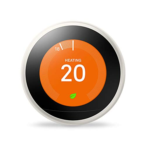 Google Nest Learning Thermostat, 3rd Generation, White