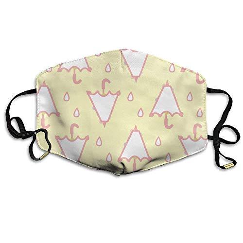 Paraplu Gezicht Masker, Herbruikbare Polyester Gezicht Mond Masker Respirator Voor Fietsen Anti Stof Voor Unisex Mannen Vrouwen Meisjes