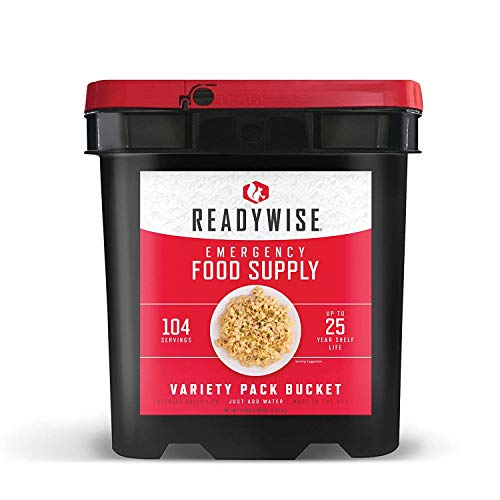 Wise Company Emergency Food Supply, Variety Pack, 25-Year Shelf Life,...