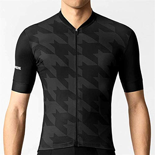 Cycling top Pro Cycling Jersey Short Sleeve Riding T-Shrit Jersey Hyococ (Color : Jersey B, Size : XX-Large)