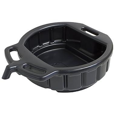 Lisle 17942 Black Plastic 4.5-Gallon Drain Pan