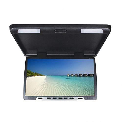 HD 22 pouces USB SD HDMI FM voiture 1080P voiture toit-Mount/Flip Down/voiture plafond large/sur la tête affichage/baisse vers le bas moniteur LCD