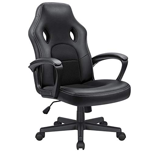 KaiMeng Office Gaming Chair High Back Leather...