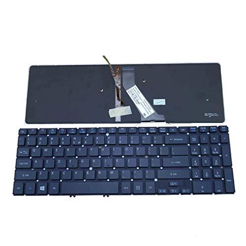 Teclado para computadora portátil Nuevo teclado retroiluminado negro para computadora portátil de EE. UU. Para Acer Aspire V5-531P V5-551G V5-571G V5-571PG M3-581 M3-581T M3-581G M3-581PT M5 M5-581T M