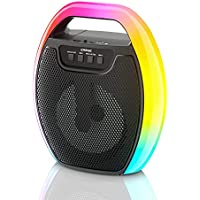 EARISE D61 Wireless Bluetooth Portable Speaker with RGB Lights