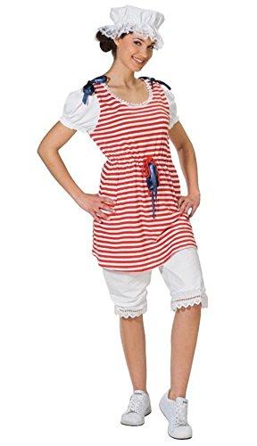 Generique - Retro-Badeanzug Kostüm für Damen