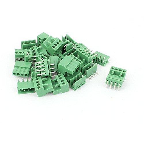 16 Stück, 3,96 mm 4 Pin PCB-Steckerbausatz, Terminal-Block-Anschluss de