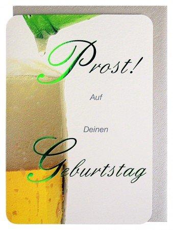 Geburtstagskarte Prost! ein Bier