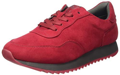 Tamaris Damen 1-1-23606-25 Sneaker, rot, 38 EU