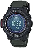 Casio Men's PRO TREK Stainless Steel Quartz Watch with Resin...