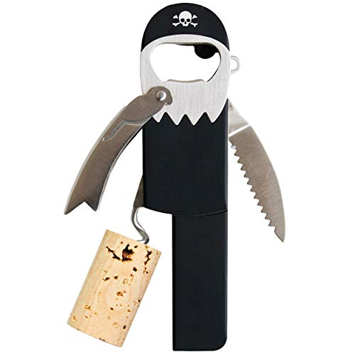 Pirate Peg Leg Corkscrew Wine Opener