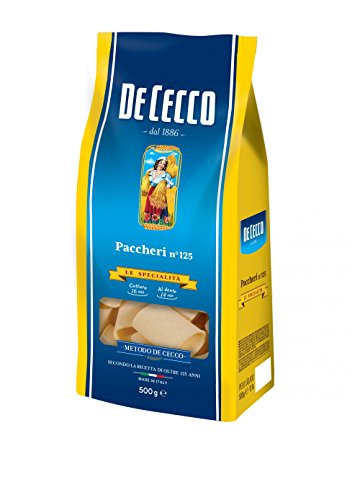 10x Pasta De Cecco 100% Italienisch Paccheri n 125 Nudeln 500g