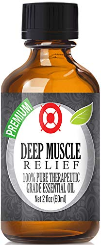 Deep Muscle Relief Blend Essential Oil - 100% Pure Therapeutic Grade...