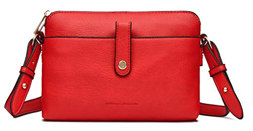 collezione alessandro Premium Tasche Trudy mit vielen Fächern aus softem Material 23cm x 15cm x 7cm