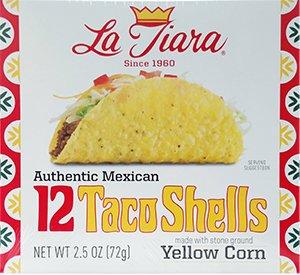 La Tiara Taco Shells 12-count Box  Two Boxes  2.5 oz