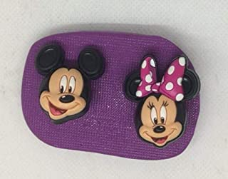 Disney - Molde de silicona para magdalenas, diseño de Mickey Minnie Mouse