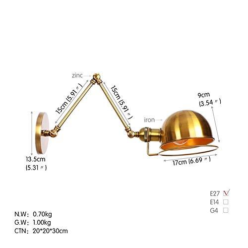 Wandlantaarn, kristal, spiegel, wandlamp, wandlamp, voor apparaten met hoge en onderkant, voor wandverlichting in de woonkamer, hal van metaal