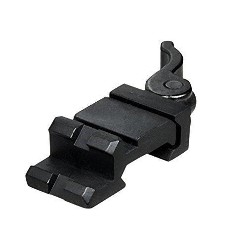 UTG Picatinny Schiene Picatinny/Weaver Winkelmontage mit Schnellverschluß mit einem Slot MAS0122