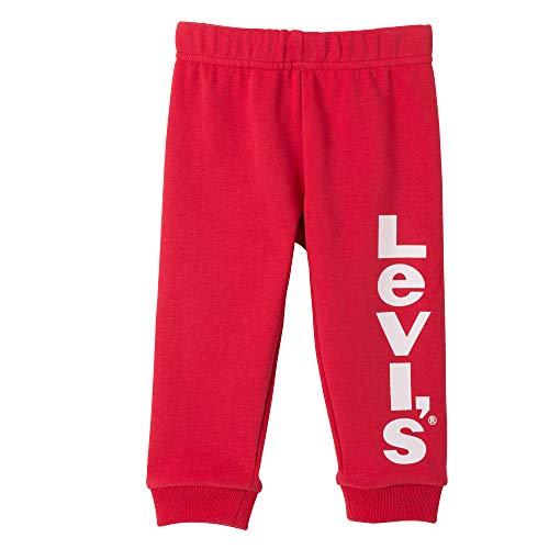 Levi's Kids Baby-Jungen Nn24014 Leggings, Rot (Dark Red 37), 12-18 Monate (Herstellergröße: 18M)