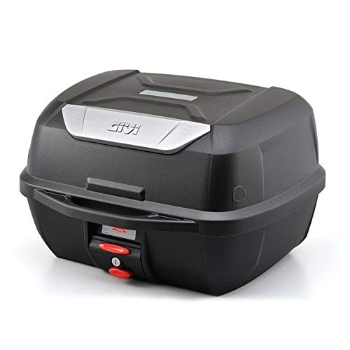 GIVI ジビ リアボックス モノロックケース トップケース 大容量 43L E43NTLD ベース付 カラー 未塗装ブラック
