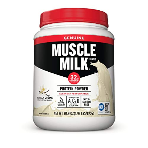 Muscle Milk Lean Muscle Vanilla Creme Protein Powder