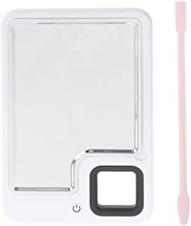 Cosmetisch verwarmd make-up palet schoonheidssalon kleur crème nail art oogschaduw mengen mengen met spatel (Color : A)