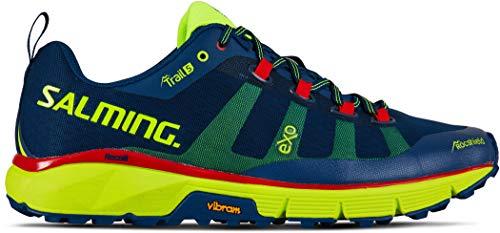 Salming Trail 5 - Zapatillas deportivas para correr para hombre, color gris/negro, 11.5