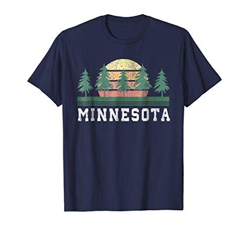 Minnesota MN T-Shirt Retro Vintage Shirt Gift Men Women Kids