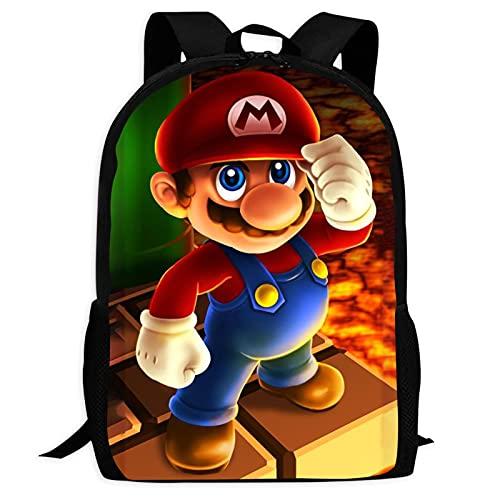 Mochila escolar de los niños de dibujos animados de los juegos de los Daypacks del tamaño perfecto de la bolsa de viaje para las niñas, talla única, Figura de dibujos animados