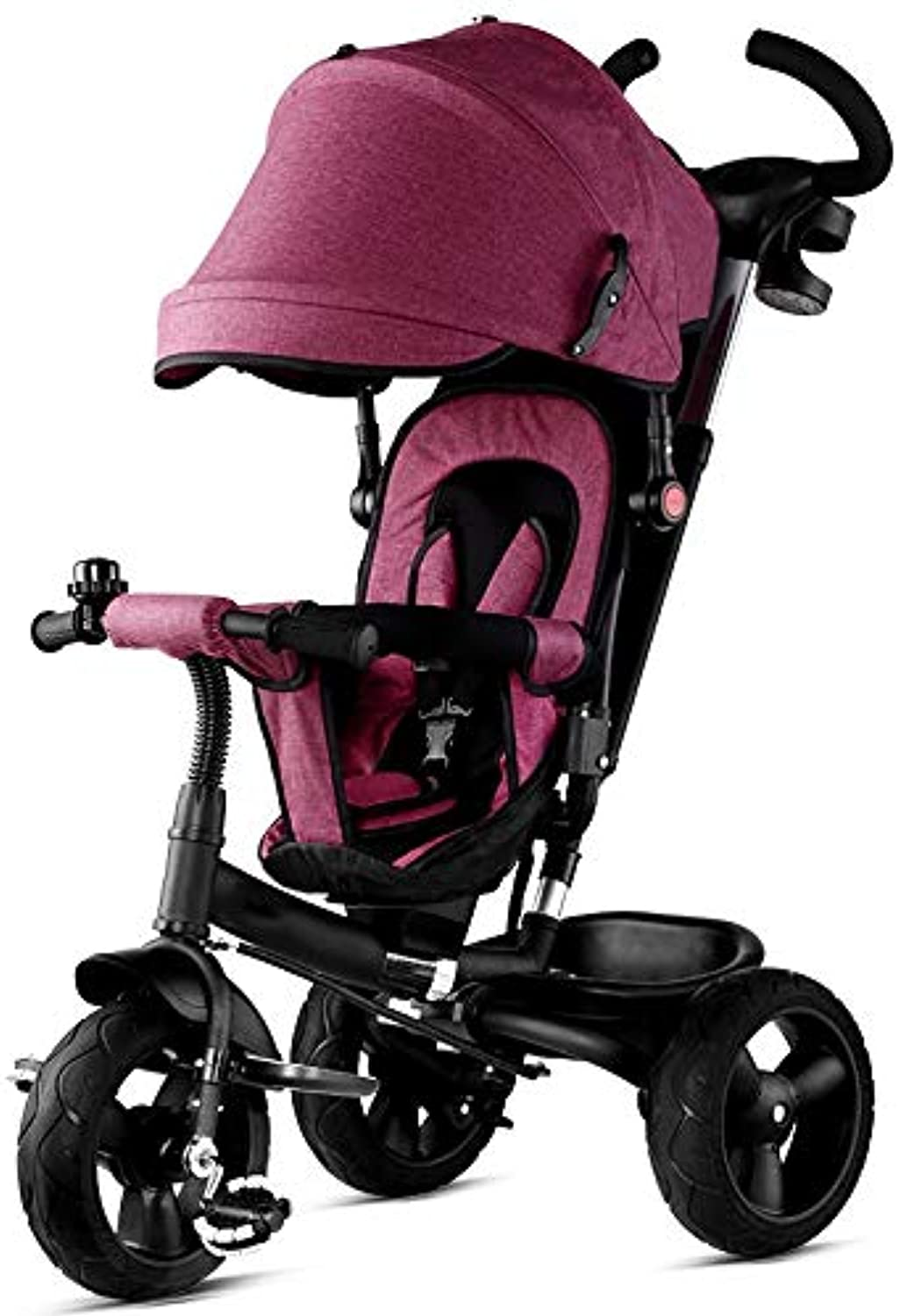 almacén al por mayor YUMEIGE triciclos Triciclo para Niños 1-6 1-6 1-6 años de Edad Regalo de cumpleaños TricicloCochegue 25 kg Cochecitos para Niños Toddler Trike con toldo (Color  Morado) Disponible  100% garantía genuina de contador