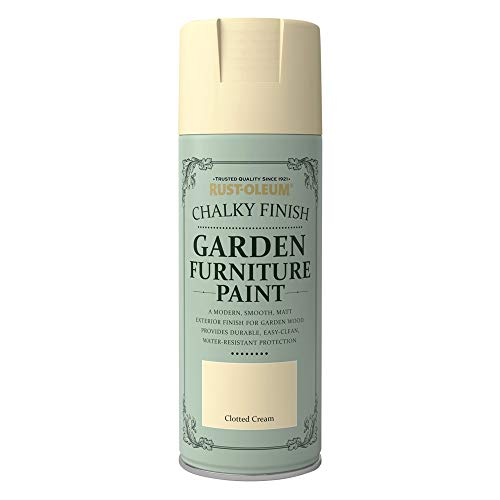 Rust-Oleum AE0548400UK Spray Paint, Clotted Cream