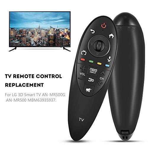 Zoternen Control Remoto Universal de TV Inteligente,Mando a Distancia de Repuesto de Bajo Consumo Portátil para LG 3D Smart TV AN-MR500G AN-MR500 MBM63935937